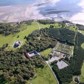Aerial View of Lissadell