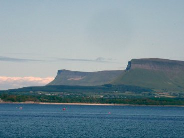 Benbulben from Raghly
