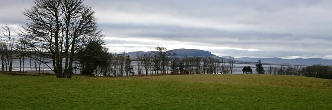 View of Knocknarea from Lissadell