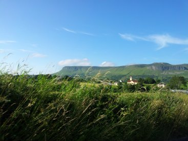 Benbulben from Drumcliff