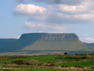 Benbulben from Mount Edward